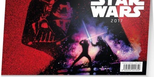 Stolní kalendář Star Wars 2017 - dodání do 2 dnů