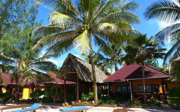 Zanzibar - Nungwi na 9 dní, polopenze s dopravou letecky z Prahy