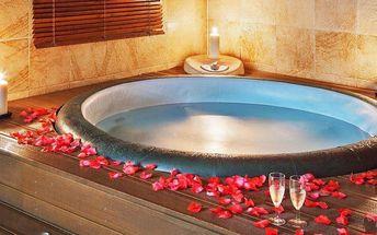 Privátní relaxace: sauna, vířivka a občerstvení