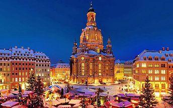 Adventní zájezd do Drážďan pro JEDNOHO na vánoční trhy a za památkami – odjezd z Prahy a Ústí nad Labem
