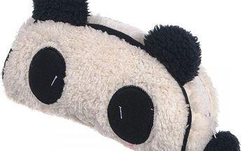 Plyšové pouzdro s motivem pandy - poštovné zdarma