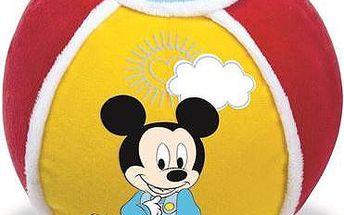 CLEMENTONI Mickey - měkký míč se zvukovými efekty