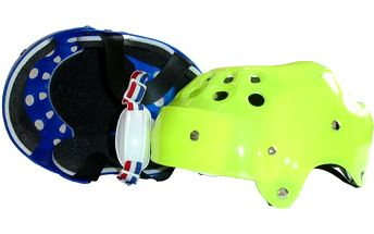 Helma na in-line brusle nebo skateboard