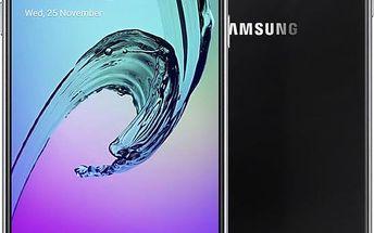Samsung Galaxy A3 (2016) LTE, černá - SM-A310FZKAETL