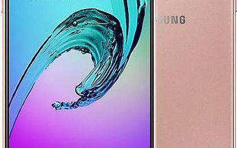 Samsung Galaxy A3 (2016) LTE, růžová - SM-A310FEDAETL