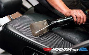 Vyčištění automobilu včetně provonění interiéru v pražském servisu MANDISANplus