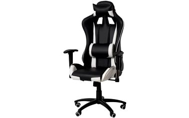 Kanclářská židle - křeslo NEBRASKA - šedá