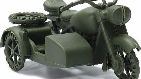 Historický tříkolový motocykl