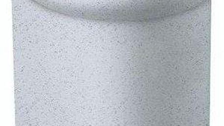 Koš odpadkový PEDAL SQR 6l - šedý CURVER