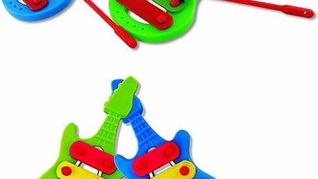 Dětský mini xylofon v podobě kytary - poštovné zdarma