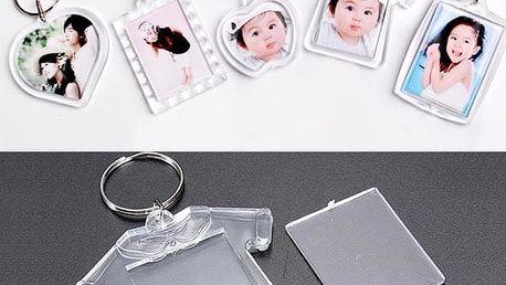 Klíčenky na vlastní foto - skladovka - poštovné zdarma