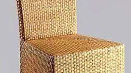 LASIO židle - VYSOKÉ NATUR / KŮRA