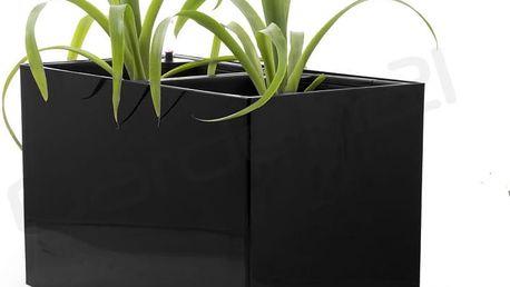 Samozavlažovací květináč G21 Combi černý 56 x 28cm