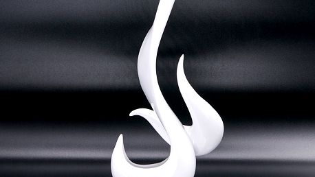 Socha designová Flame plamen