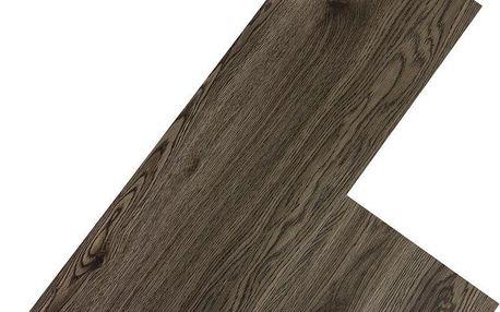 Vinylová plovoucí podlaha STILISTA 5,07m², tmavě šedý dub