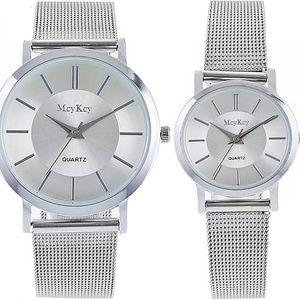 Ležérní náramkové hodinky pro muže i ženy - 2 barvy - poštovné zdarma