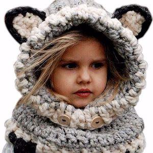 Roztomilá dětská čepice s ušima