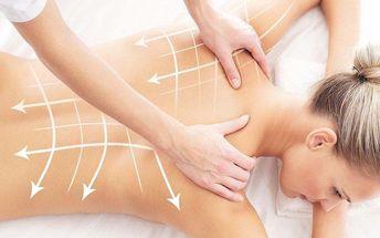 Oddechové masáže pro uvolnění zad a šíje