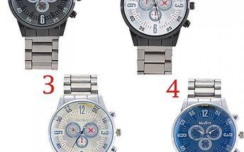 Luxusní pánské hodinky z nerezové oceli