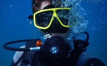 Zážitkové potápění v zatopeném lomu Matylda za akčních 899Kč.