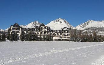 Hotel Hubert **** ve Vysokých Tatrách pod Gerlachovským štítem