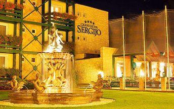 3denní pobyt pro 2 s wellness v Piešťanech v Grand hotelu Sergijo