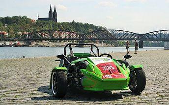 Až 2hodinový pronájem speciálních tříkolek v Praze