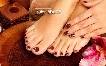 Péče o vaše nohy: mokrá nebo suchá pedikúra na 45 minut, Salon Beauty - Praha 3, Žižkov
