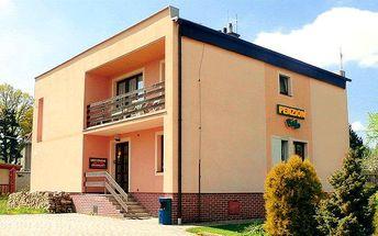 3–5denní pobyt se snídaněmi na pokoji pro 2 osoby v penzionu Bájo na západě Čech