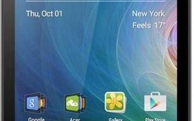 """Acer LIQUID Z330 LTE 4,5"""" IPS 854x480, 1,1GHz Quad -Core, Android 5.1 ROM 8GB, RAM 1GB, kamera 5Mpx/5Mpx, černý"""