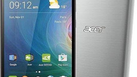 Mobilní telefon Acer s možností vložit dvě SIM karty - stříbrný
