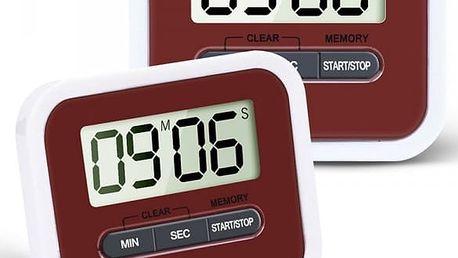 Kuchyňský časovač s hlasitým alarmem - 2 ks