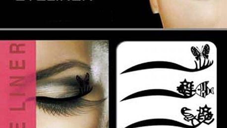 Tetovací oční linky - 8 párů - poštovné zdarma