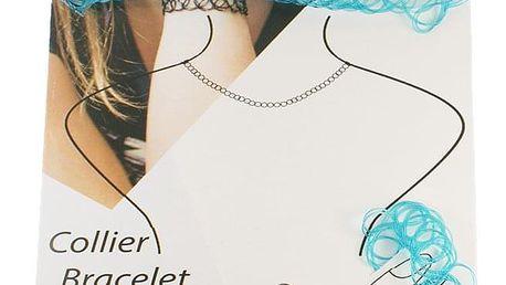 Fashion Icon Modní sada TATTOO CHOKER 3 ks