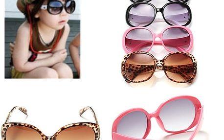 Módní sluneční brýle pro děti