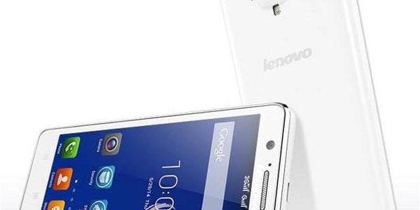 Mobilní telefon Lenovo A536 ve světlém provedení s funkcí Dual SIM