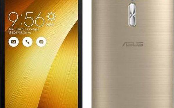 Asus ZenFone Selfie 32 GB ZD551KL (ZD551KL-6G175WW) zlatý