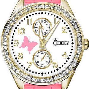 Dámské hodinky Cheeky HE018 světle růžové