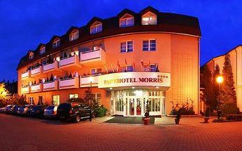 3denní pobyt pro dva s privátním wellness v Novém Boru v Parkhotelu Morris