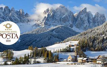 Itálie, Trentino na 6 dní pro 2 osoby ve 4* hotelu s polopenzí a neomezeným wellness