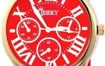 Dámské hodinky Cheeky HE005 červené