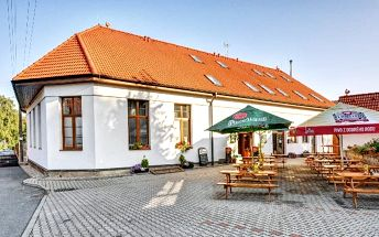 3denní pobyt pro 2 s polopenzí a lahví vína u Chrudimi v penzionu U Nováků