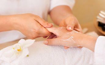 Péče o vaše ruce - parafínový zábal s peelingem