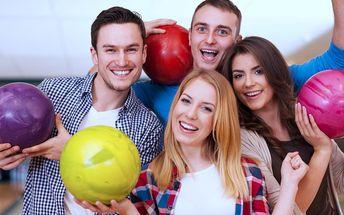 Hodina aktivní zábavy: Bowling až pro 4 osoby