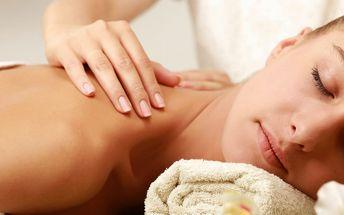 Relaxační nebo klasická uvolňující masáž