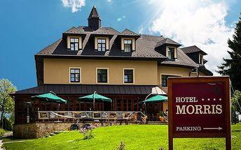 5denní wellness pobyt s polopenzí pro 2 v Golf Hotelu Morris v Mariánských Lázních