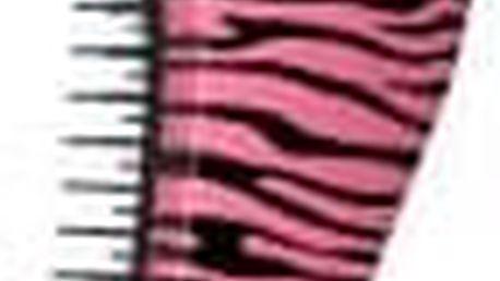 DTANGLER Kartáč růžová zebra