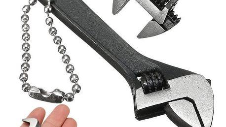 Nastavitelný kovový miniklíč