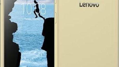 """Mobilní telefon Lenovo PHAB Plus 6,8"""" 32GB - Gold (ZA070026CZ) zlatý + Software F-Secure SAFE 6 měsíců pro 3 zařízení v hodnotě 999 KčSIM s kreditem T-mobile 200Kč Twist Online Internet (zdarma)+ Voucher na skin Skinzone pro Mobil CZ v hodnotě 399 Kč"""