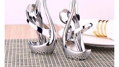 Stojánek Labuť na vidličky a lžíce